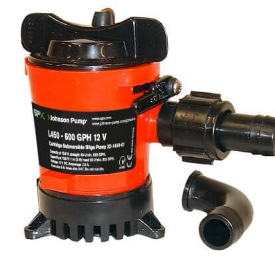 Bilge Pumps - Cartridge L450-L750 & Ultima Combo